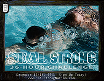 SEAL Strong Challenge poster